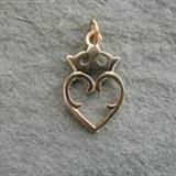 Gold Luckenbooth Pendant