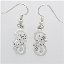 Ard Silver Earrings