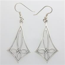 Benbecula Cross Earrings