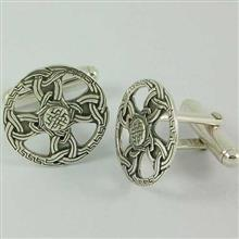 Celtic Cross Cufflink