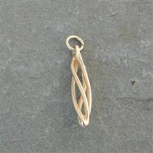 Eilidh Plain Gold Charm 9ct