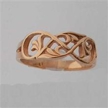 Eriskay Ring 9ct Red Gold
