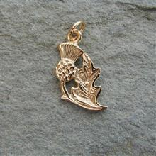 Flodden 9ct Gold Charm