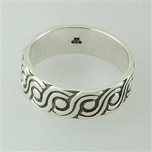 Hebridean Ring Silver