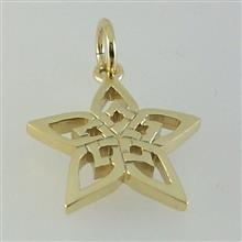 Hebridean Star 9ct Gold