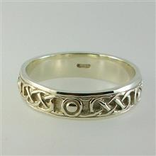 Iona Ring solid 9ct White Gold