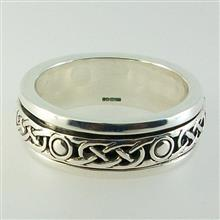 Iona Spinning Ring Silver