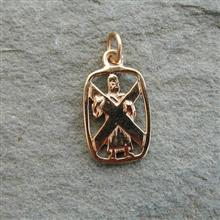 St Andrew  9ct Gold