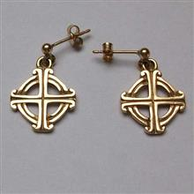 St Joseph Gold Earrings